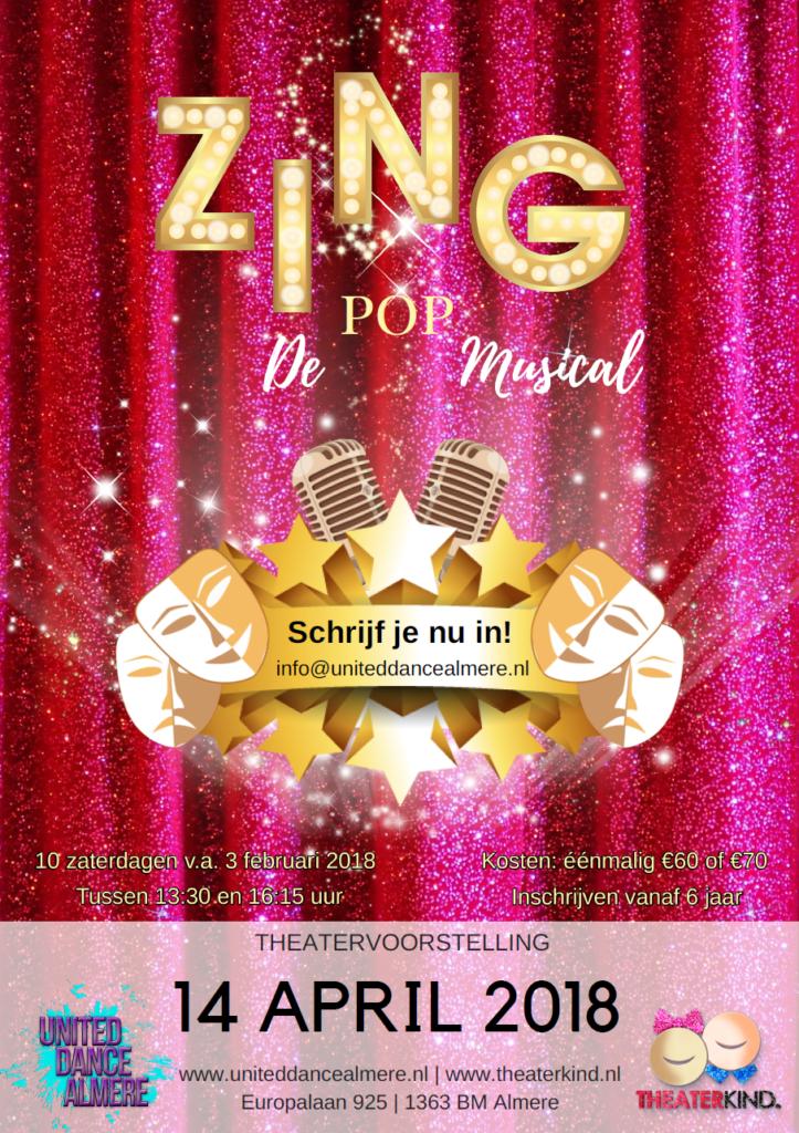 Start cursus ZING de POP Musical