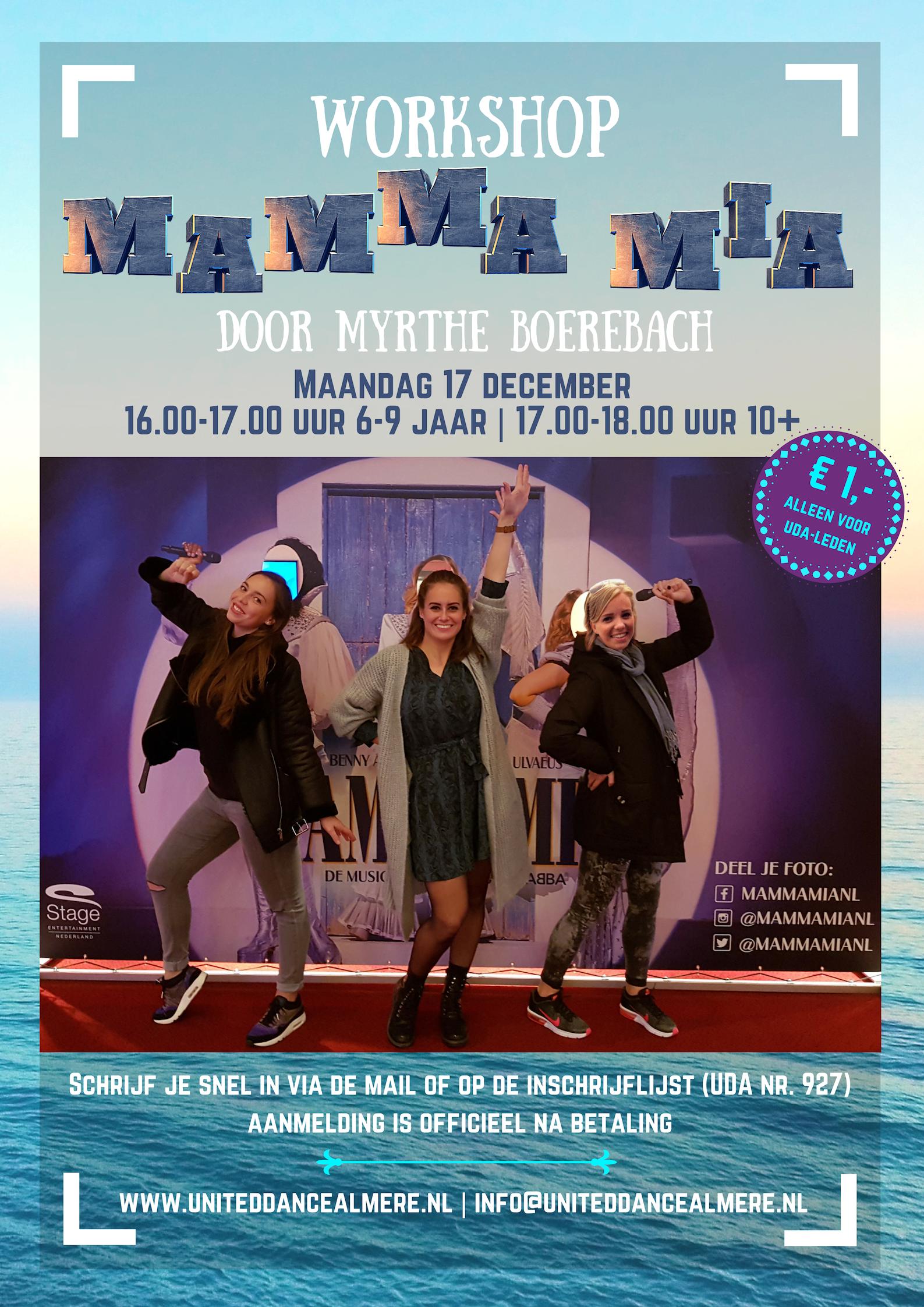 Workshop Mamma Mia