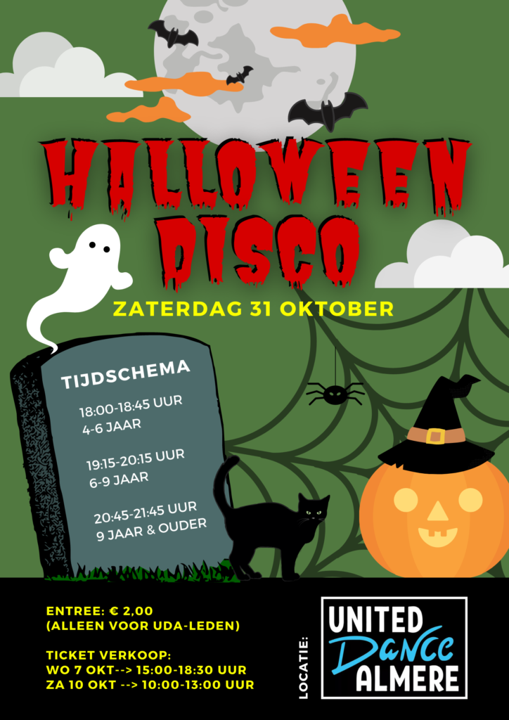 Halloween Feest Almere.Uda S Halloween Disco United Dance Almere